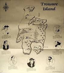 Map Of Treasure Island Florida by Treasure Island Map My Blog