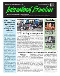 Credit Union Examiner Forum May 17 2017 International Examiner By International Examiner Issuu