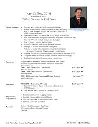 Realtor Resume Example by Real Estate Resume Samples Free Resume Example And Writing Download