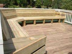 how to build deck bench seating deck bench seat yelp pinteres