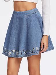 denim skirts denim skirts shop women s skirts in shein