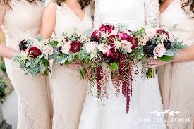 florist nashville tn enchanted florist crimson pink gold winter wedding at noah