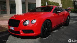 bentley red 2016 bentley continental gt v8 s concours series black 25 november
