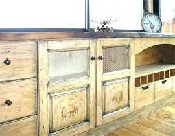 caisson cuisine bois massif porte de cuisine en bois brut meuble sous evier en bois caisson
