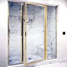 Schicker Shower Doors Shower Door Brass Shower Frame Enclosures Schicker Luxury Shower
