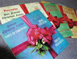 Making Photo Albums Making Spirits Bright U0027 Christmas Albums From Goodyear And