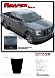 Ford F150 Truck Decals - 2015 2018 f 150 ford truck reaper hood decals racing stripes 3m