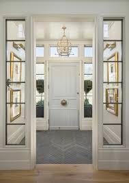 entry vestibule lovely vestibule with herringbone slate floor love the sidelights