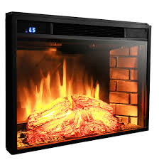 Realistic Electric Fireplace Logs by 1400w Free Standing Insert Electric Fireplace Firebox Heater Flame