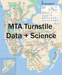 Mta New York Map by Mta Turnstile Data Science U2013 Galen Ballew U2013 Medium
