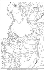 gustav klimt coloring pages