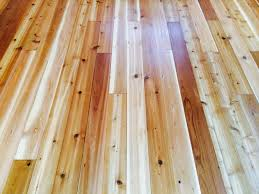 Bona Gloss Floor Finish by This Lakeside Cottage Had This Cedar Floor We Sanded And