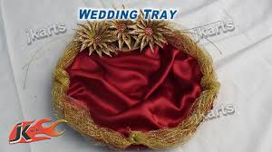 wedding trays diy how to make wedding tray jk arts 207