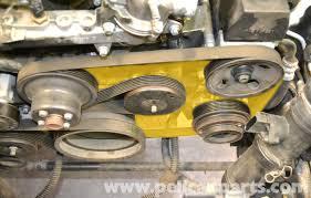 mercedes benz slk 230 belt tensioner replacement 1998 2004