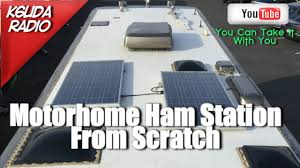 Radio Antennas For Rvs Building A Motorhome Ham Station From Scratch K6uda Radio