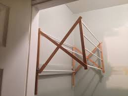 Wall Mounted Cloth Dryer Laundry Room Drying Rack Rdcny