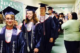 high school cap and gown st west centennial graduation