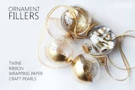 gold dipped ornaments home made by carmona