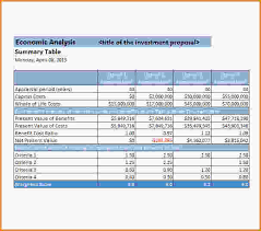 Analysis Template Excel 10 Cost Benefit Analysis Template Excel Loan Application Form