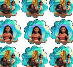 free moana birthday party printable files moana polynesian party