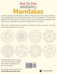 dot to dot mindfulness mandalas relaxing anti stress dot to dot