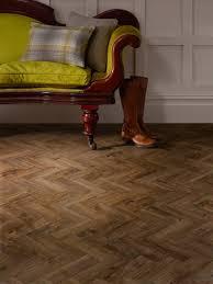 Lino Style Parquet by Camaro Georgian Parquet 2252 Vinyl Flooring
