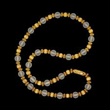 crystal bead necklace jewelry images Lalaounis rock crystal bead necklace circa 1960s 66mint fine jpg