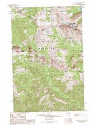 Topographic Map Seattle by Mount Stuart Topographic Map Wa Usgs Topo Quad 47120d8