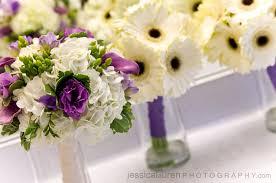 wedding flowers for september bank of flowers purple wedding flowers