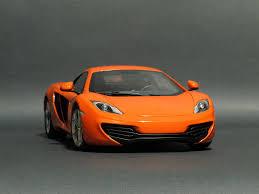 koenigsegg mclaren 1 18 autoart mclaren mp4 12c orange mclaren diecastxchange
