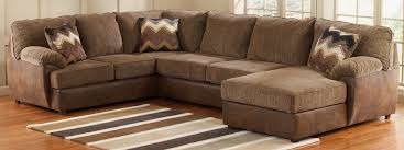 Ashley Furniture Leather Sectional With Chaise Buy Ashley Furniture 2410066 2410034 2410017 Cladio Hickory Raf