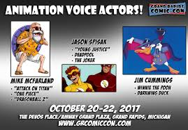 grand rapids comic con october 20 22 2017 at the devos place