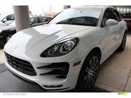 Porsche Macan Grey - 2016 carrara white metallic porsche macan turbo 108083541 photo