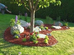 Creating A Rock Garden How To Create A Landscape Berm Easy Landscaping Build A Rock
