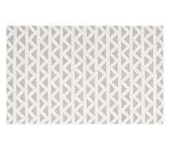 Pottery Barn Rugs For Sale Triangles Rug Gray Pottery Barn Kids