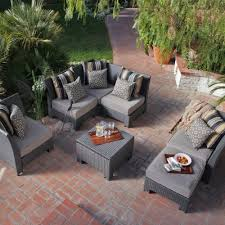 gray patio furniture home outdoor
