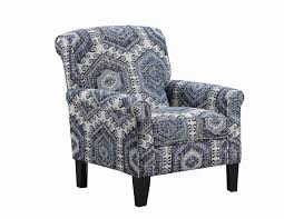 Simmons Upholstery Furniture Simmons Scarlet Accent Chair Tequila Indigo
