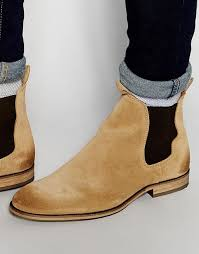 light tan suede chelsea boots selected cheap three paris chinos selected homme melvin suede