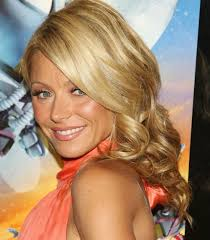 hair color kelly ripa uses kelly ripa formal curly hairstyle prom party formal