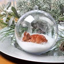 100mm clear acrylic fillable ornament acrylic fillable