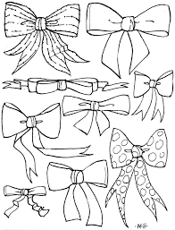 bows coloring pages click the christmas bow vitlt com