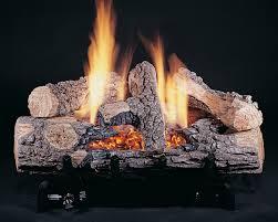 gas fireplace logs binhminh decoration
