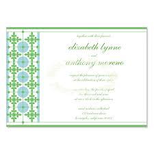 Do It Yourself Wedding Invitation Kits Green U0026 Blue Wedding Invitation Kit Monica Sky Diy Printable