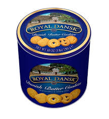 butter cookies 3 lb tin by office depot officemax