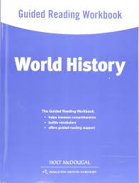 world history guided reading workbook survey holt mcdougal