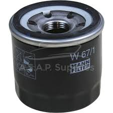 mann w 67 1 spin on marine engine oil filter canister