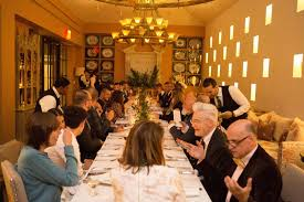 richard keith langham incollect and ad u0027s designer dinner photos architectural digest