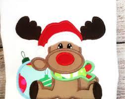christmas applique girl mouse christmas lights applique design dst exp hus