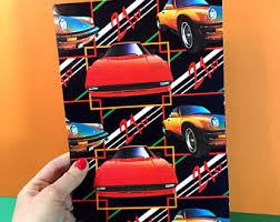 cars wrapping paper car wrapping paper etsy