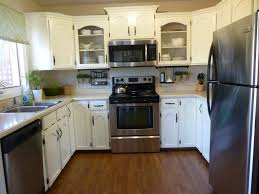 amazing idea of simple kitchen remodel ideas with white cabinet